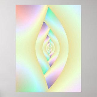 Auge des Labyrinth-Plakats Poster