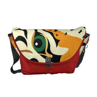 Auge des Tigers Kurier Taschen