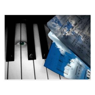 Auge für music.png postkarte