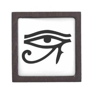Auge Horus der ägyptischen Gott-Geschenkidee Schachtel