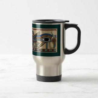 Auge Horus der alten ägyptischen Kunst-Tasse Reisebecher