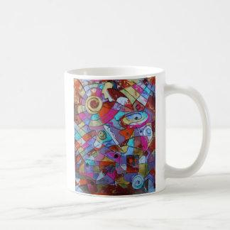Auge im Himmel Kaffeetasse