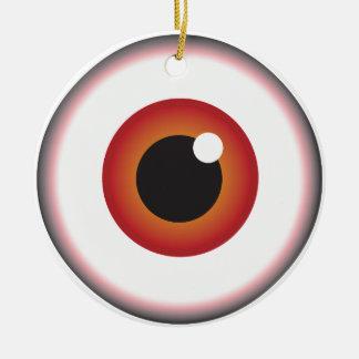Auge Keramik Ornament