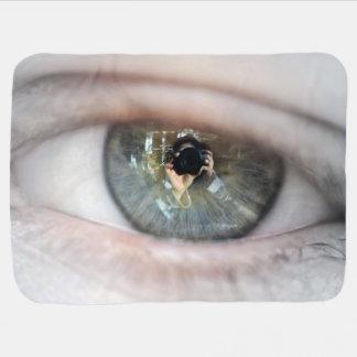 Auge-Makro durch Shirley Taylor Kinderwagendecke