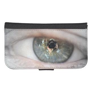 Auge-Makro durch Shirley Taylor Phone Geldbeutel