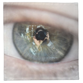 Auge-Makro durch Shirley Taylor Serviette