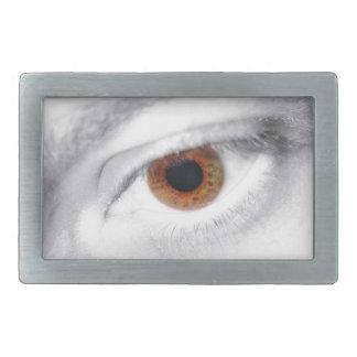 Auge Rechteckige Gürtelschnallen