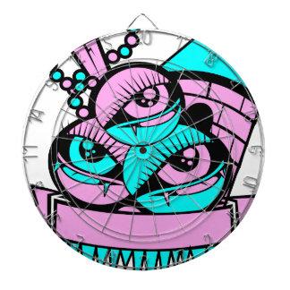Auge Spaßvampir Dartscheibe