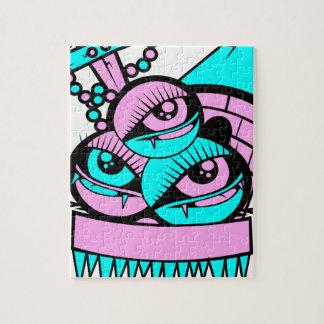 Auge Spaßvampir Puzzle