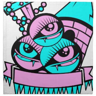 Auge Spaßvampir Serviette