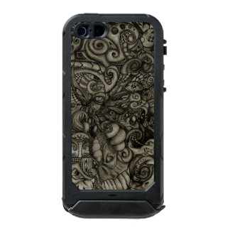 Auge-Spyder Dämon-abstrakte Stammes- Grafik Incipio ATLAS ID™ iPhone 5 Hülle
