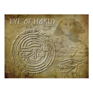 Auge von Horus (Auge von Ra) Postkarten