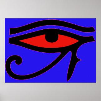 Auge von Horus Poster