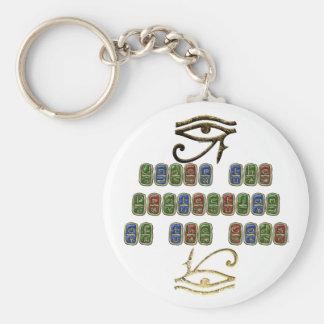 Auge von Horus Schutz Keychain Schlüsselanhänger