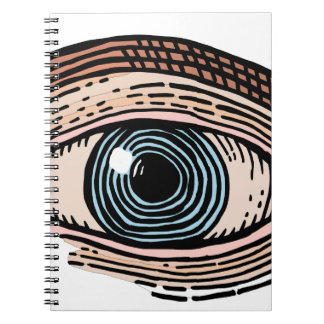 Auge von Providence (transparent) Notizblock