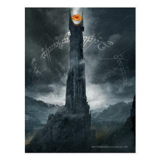 Auge von Sauron Zusammensetzung Postkarte