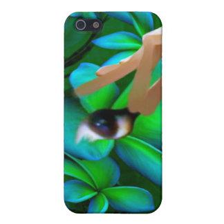 Auge wählte das Blumen-Produkt aus Etui Fürs iPhone 5