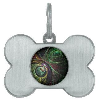 Auge, zum der abstrakten Kunst zu mustern Tiermarke