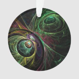 Auge, zum des abstrakten Kunst-Acryl-Kreises zu Ornament