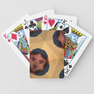 Augen auf Spielkarten