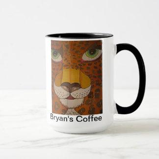 Augen der Jaguar-Tasse Tasse
