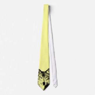 Augen der Wolf-Krawatte Personalisierte Krawatten