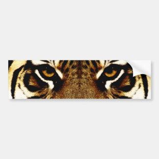 Augen eines Tigers Autoaufkleber