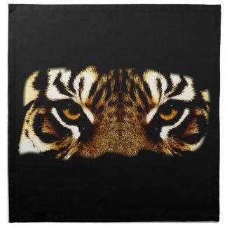 Augen eines Tigers Serviette