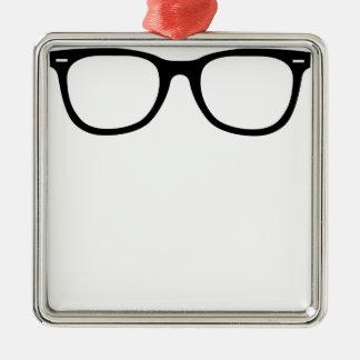 Augen-Gläser Silbernes Ornament