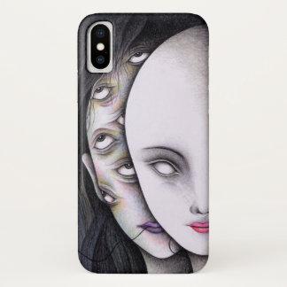 Augen iPhone X Hülle