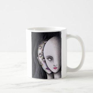Augen Kaffeetasse