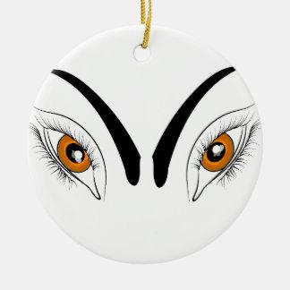 Augen Keramik Ornament
