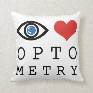 Augen-Liebe-Herz-Optometrie - Kissen