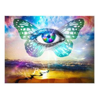 Augen-SinneskodakproFoto-Papier Fotodruck
