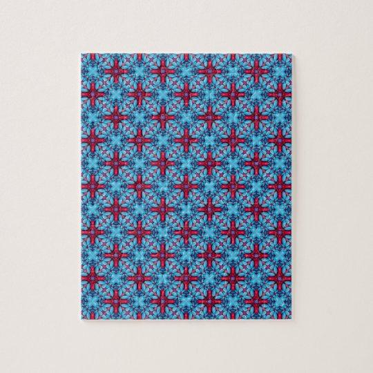 Augen-Süßigkeits-Vintages Kaleidoskop-Puzzle Puzzle