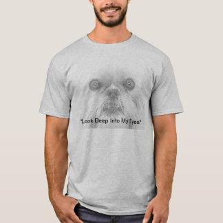 Augen T - Shirt-Hundebrüssels Griffon T-Shirt