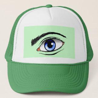 Augen Truckerkappe