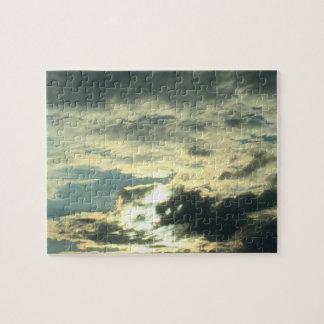 Augen-Wolken Puzzle