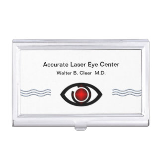 Augenarzt-Visitenkarte-Kasten Visitenkarten Etui