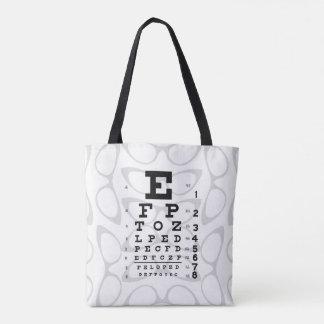Augenheilkunde-Pop-Kunst-Retro Tasche