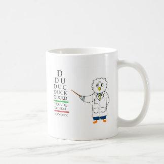 Augenuntersuchung (Optometriker) Kaffeetasse