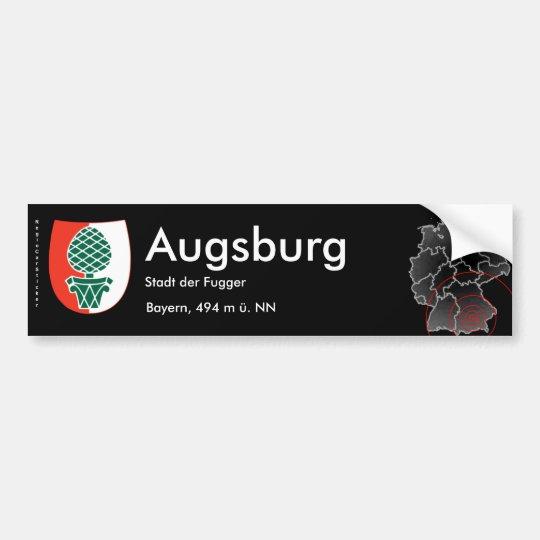 Augsburg 2 autoaufkleber