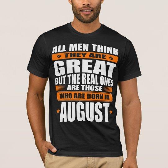 August-Geburtstag T-Shirt