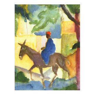 August Macke feine Kunst-Postkarte