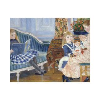 Auguste Renoir - der Nachmittag der Kinder bei Leinwanddruck