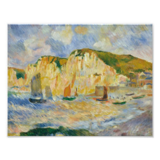 Auguste Renoir - Meer und Klippen Fotodruck