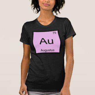Augustus Namenschemie-Element-Periodensystem T-Shirt
