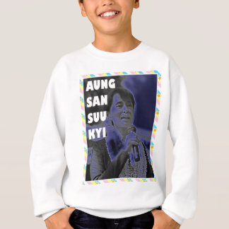 Aung- San Suu Kyientwurf 2 Sweatshirt