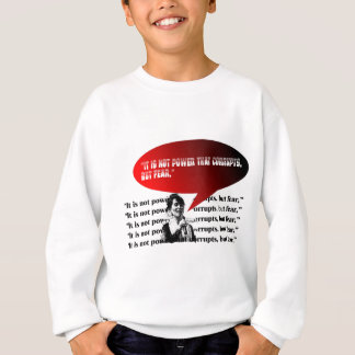 Aung- San Suu Kyientwurf 4 Sweatshirt