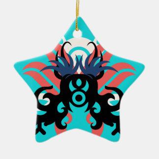 Aura der Abstraktions-drei Keramik Ornament